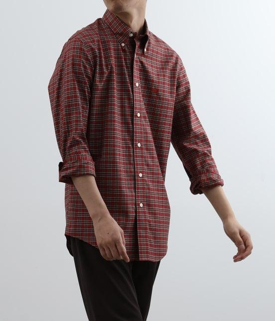 アダム エ ロペ オム | Brooks Brothers SPECIAL ORDER for ADAM ET ROPE'チェック ボタンダウンシャツ Milano Fit - 11