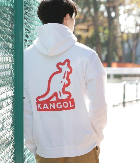 ジュンセレクト | 【KANGOL】WEB別注 シルエットロゴプルパーカー - 14
