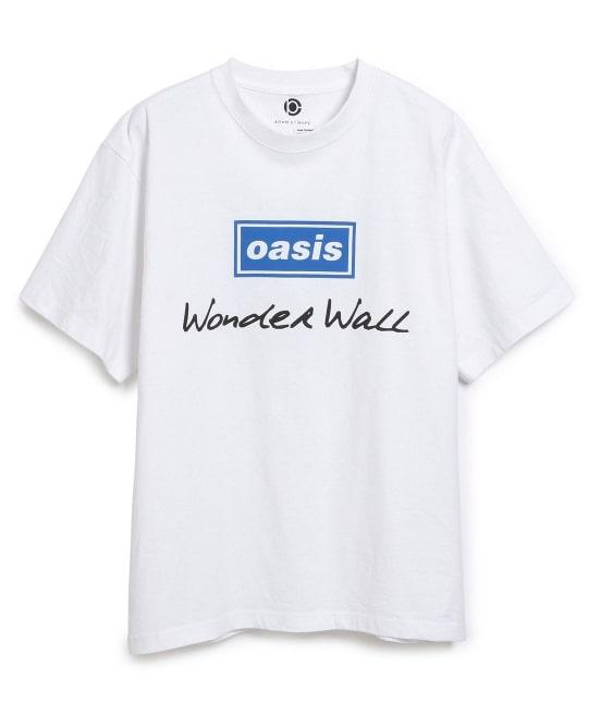 アダム エ ロペ オム   【OASIS×ADAM ET ROPE'】SONG LYRICS T-shirt 19SS - 1