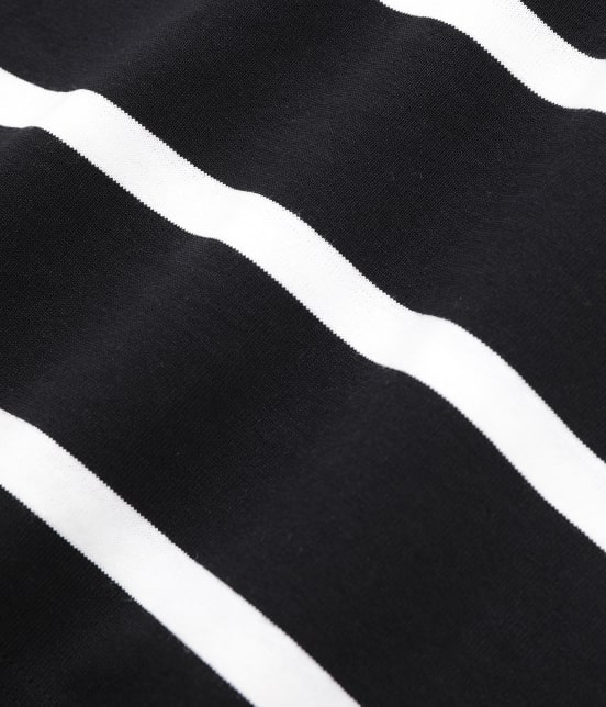 アダム エ ロペ ファム   【TRADITIONAL WEATHERWEAR for ADAM ET ROPE'】BIG MARINE BOATNECK SHIRT - 14