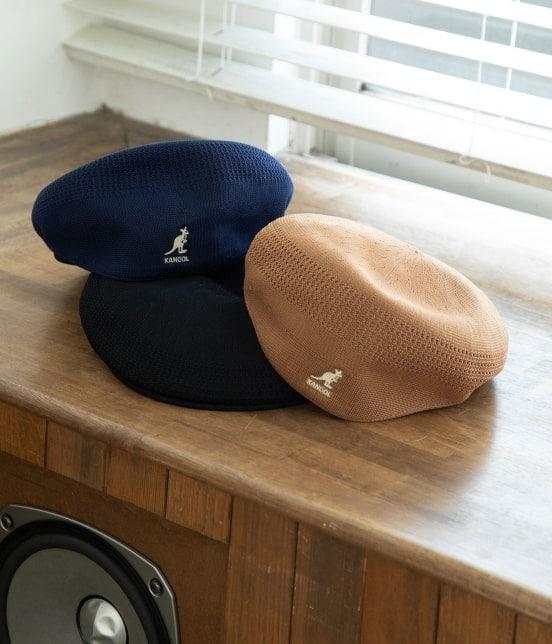 ビス   【KANGOL】メッシュハンチングベレー帽 - 13
