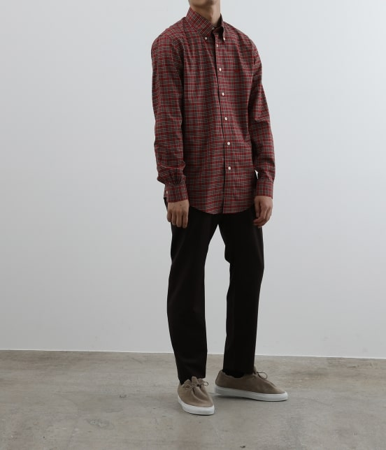 アダム エ ロペ オム | Brooks Brothers SPECIAL ORDER for ADAM ET ROPE'チェック ボタンダウンシャツ Milano Fit - 14
