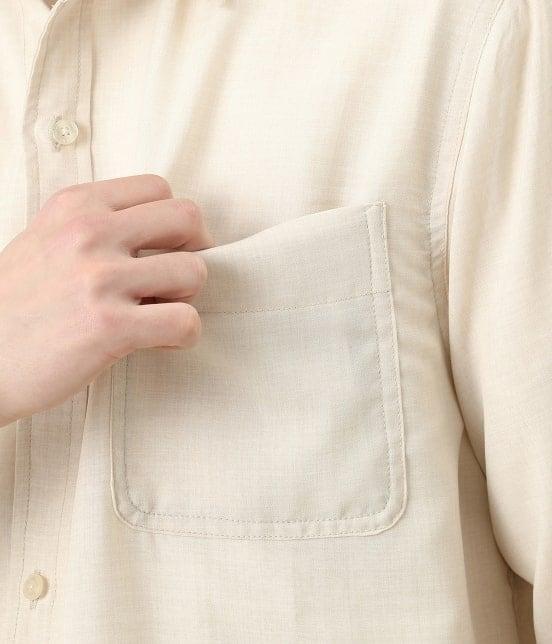 ジュンレッド | カチオン7分レギュラーカラーシャツ - 6