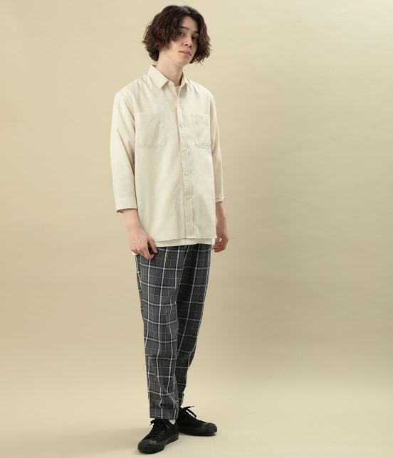 ジュンレッド | カチオン7分レギュラーカラーシャツ - 12