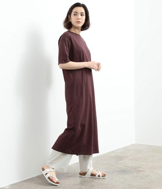 サロン アダム エ ロペ ウィメン | バックスリットロングT-DRESS - 3