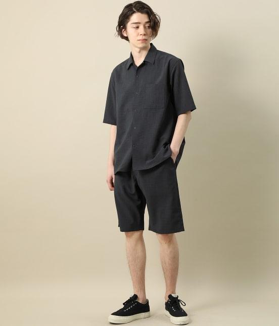 ジュンレッド   【Less:3/レスリー】ドライクロスオープンカラーシャツ - 9