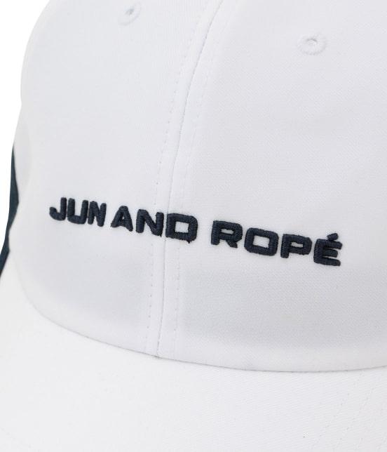 ジュン アンド ロペ | 配色コンビカクテル柄刺繍キャップ - 4