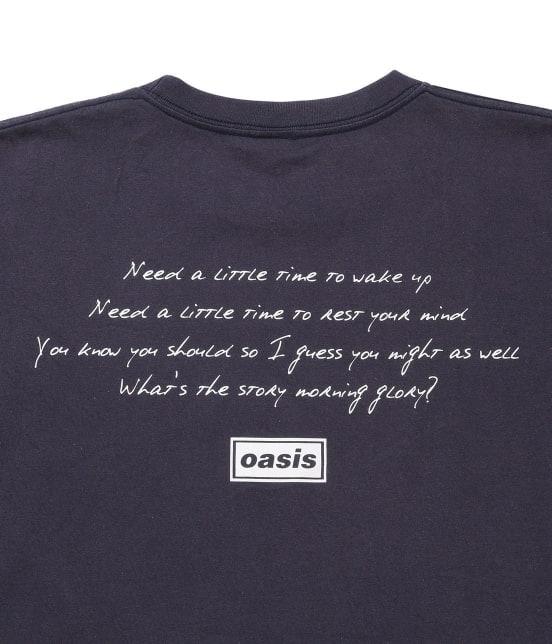 アダム エ ロペ オム   【OASIS×ADAM ET ROPE'】SONG LYRICS T-shirt 19SS - 8