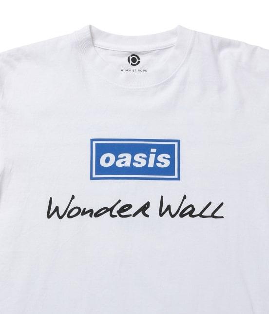 アダム エ ロペ オム   【OASIS×ADAM ET ROPE'】SONG LYRICS T-shirt 19SS - 5