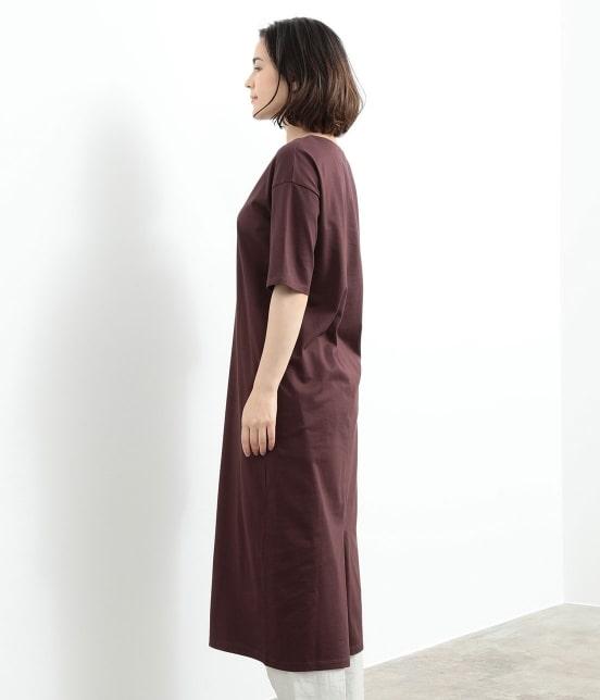 サロン アダム エ ロペ ウィメン | バックスリットロングT-DRESS - 4
