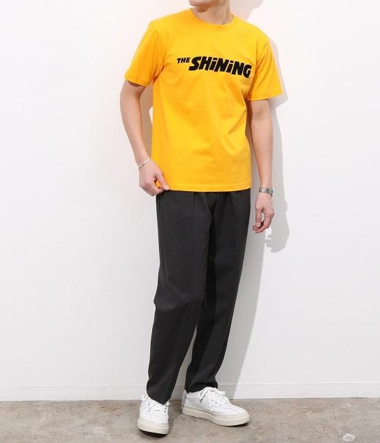 AER アダム エ ロペ   【TIME SALE】【THE SHiNiNG】コラボ ロゴプリントT - 10