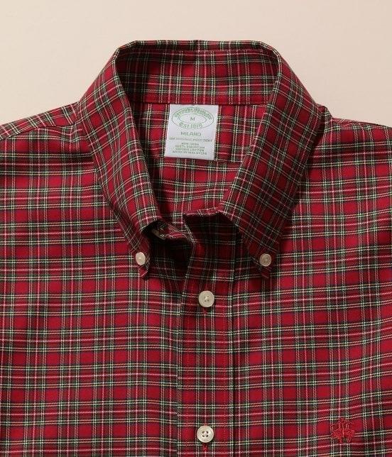 アダム エ ロペ オム | Brooks Brothers SPECIAL ORDER for ADAM ET ROPE'チェック ボタンダウンシャツ Milano Fit - 4