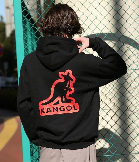 ジュンセレクト | 【KANGOL】WEB別注 シルエットロゴプルパーカー - 17