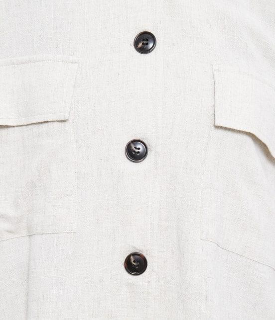 ロペピクニック   【TIMESALE 10%OFF!】【WEB限定】麻レーヨンシャツジャケット - 6