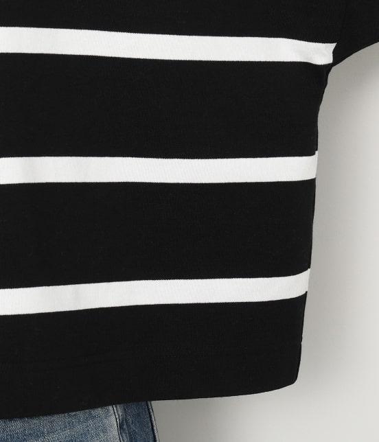 アダム エ ロペ ファム   【TRADITIONAL WEATHERWEAR for ADAM ET ROPE'】BIG MARINE BOATNECK SHIRT - 12