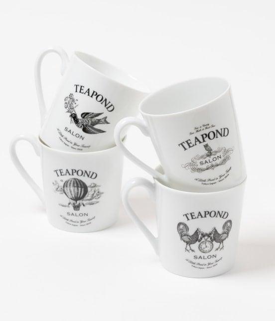 サロン アダム エ ロペ ホーム | 【TIME SALE】【TEAPOND for SALON】マグカップ - 1