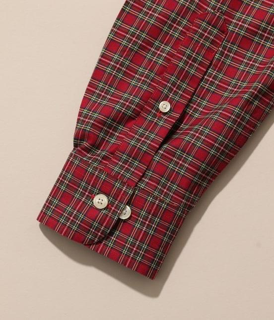 アダム エ ロペ オム | Brooks Brothers SPECIAL ORDER for ADAM ET ROPE'チェック ボタンダウンシャツ Milano Fit - 5