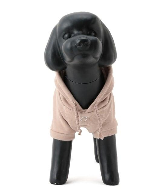 ロペピクニックパサージュ | 【DOG】ロゴ刺繍裏毛パーカー - 1