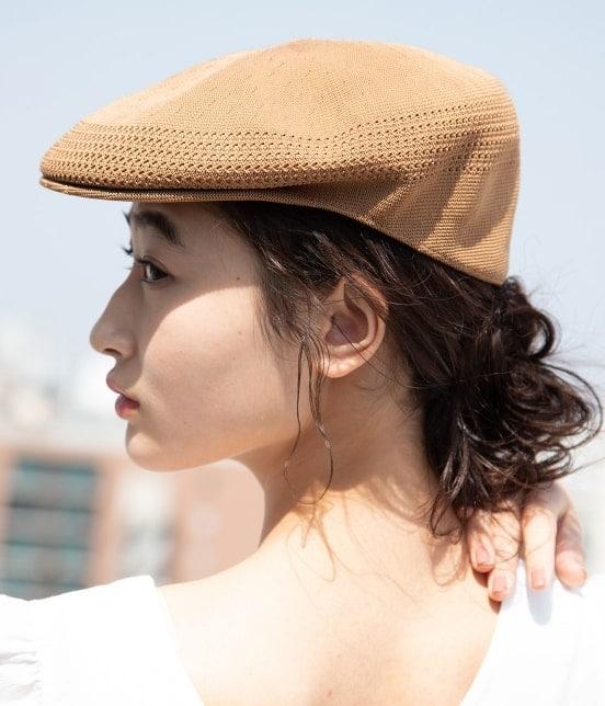 ビス   【KANGOL】メッシュハンチングベレー帽 - 12