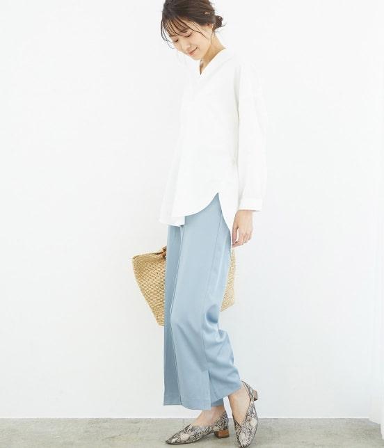 ロペピクニック | 裾スリットチュニックシャツ - 10