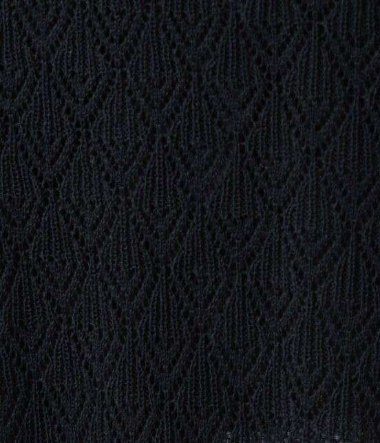 ロペピクニック | 【PRESALE】【セットアップ対応】透かし編みニットロングスカート - 4