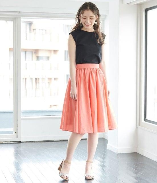 ロペピクニック | 【TIME SALE・今だけ70%OFF!】【着丈が選べる】タックベルトサップギャザースカート - 11