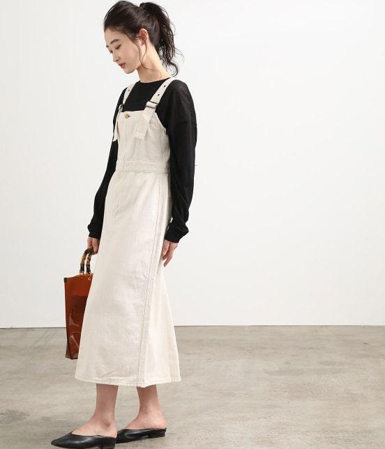 ビス   【早割】【Lee×ViS】デニムサロペットスカート - 12