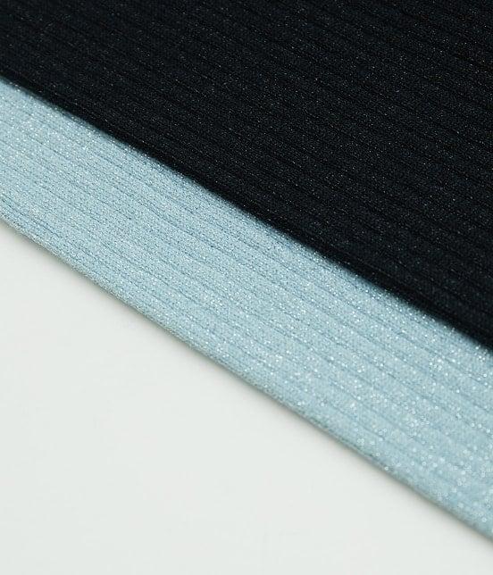 ロペピクニック | 【WEB限定36サイズ】切り替えリブVネックプルオーバー - 8