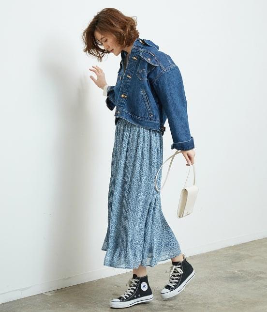 ロペピクニック   【TIME SALE・今だけ50%OFF】小花柄プリーツスカート - 9