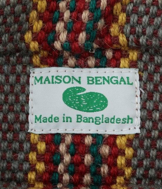 サロン アダム エ ロペ ウィメン | 【Maison bengal】JUTE BAG MEDIUM - 7