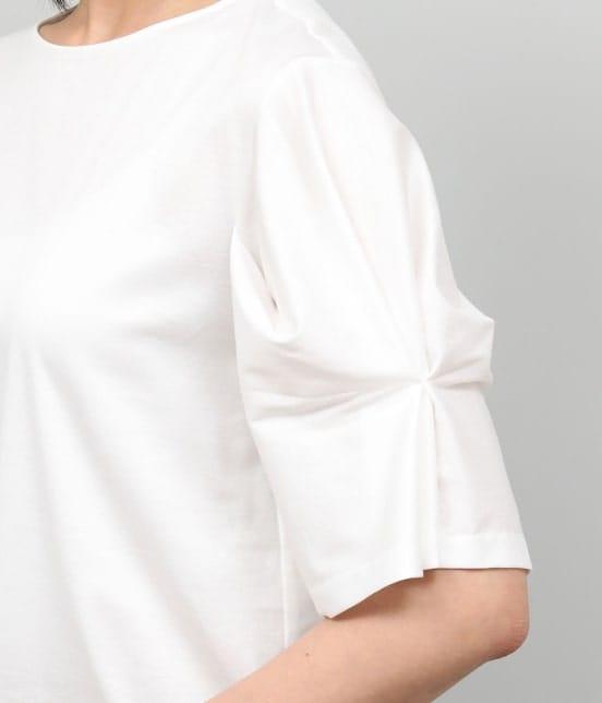 ロペ | 【洗える】【ドラマ着用】ポンチ袖タックプルオーバー - 8
