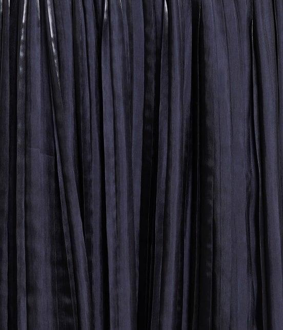 ロペピクニック | 【TIME SALE・今だけ50%OFF】【WEB限定カラー:ネイビー】シャイニープリーツスカート - 4