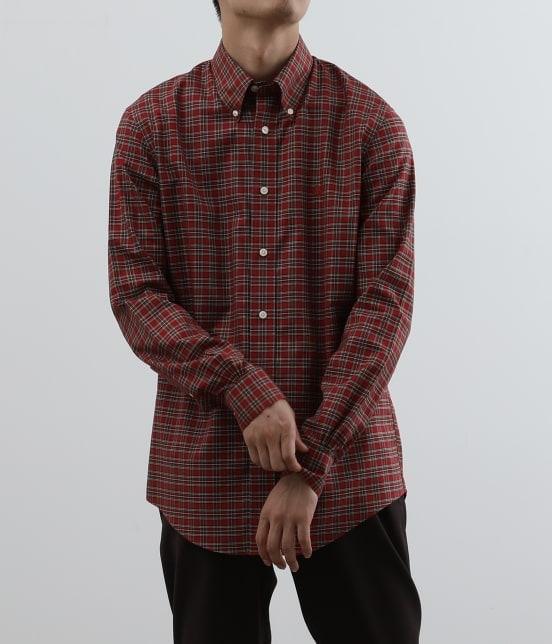 アダム エ ロペ オム | Brooks Brothers SPECIAL ORDER for ADAM ET ROPE'チェック ボタンダウンシャツ Milano Fit - 12